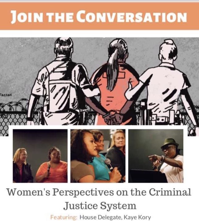 Delegate Kory and Friends of Guest House Host Emotional Discussion of Female Inmates and Re-entry
